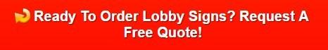 Lobby Logo Sign